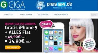 simfinity Flat mit 1 GB und Gratis Smartphone für 34,90 Euro