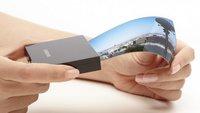 Samsung und LG kündigen flexible Displays an - ein Vergleich