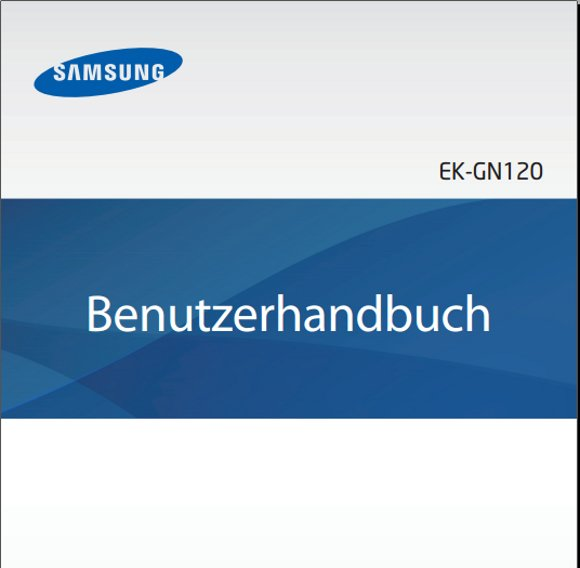 Samsung Galaxy NX Handbuch