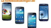 Samsung Smartphones mit 50 Euro Rabatt bei Notebooksbilliger.de