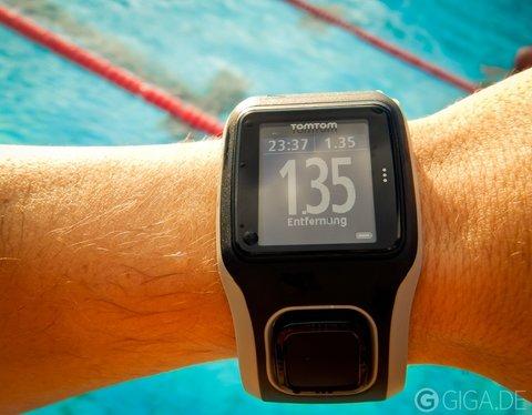 Schwimmen-Sport-Uhr-GPS