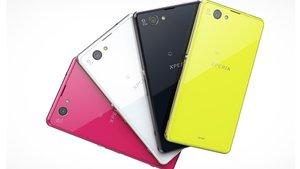 """Sony Xperia Z1 compact: Das """"kleine"""" Smartphone mit Highend-Spezifikationen"""