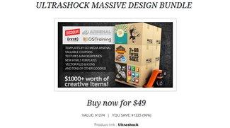 Ultrashock Massive Design Bundle für ca. 36 Euro