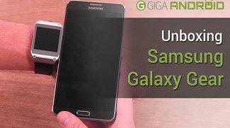 Samsung Galaxy Gear Unboxing