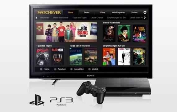 So könnt ihr Watchever auf der PS3 sehen