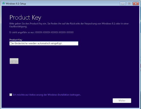 Windows 8.1 Setup Tool