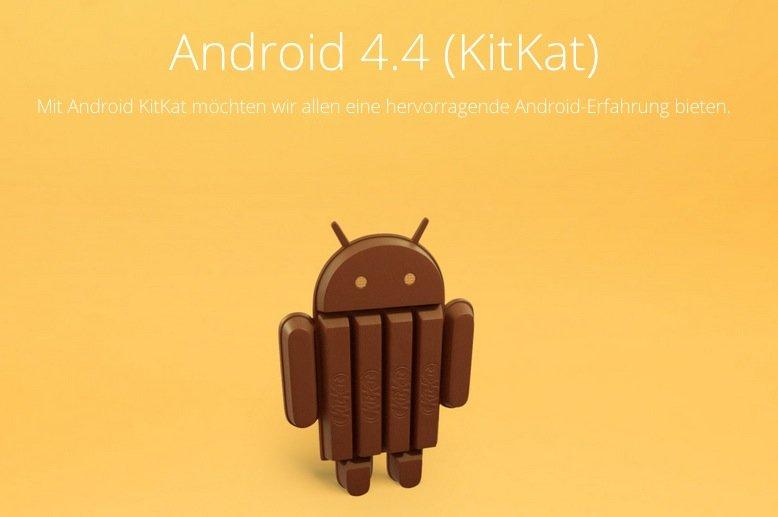 Android 4.4 KitKat-Features: Optimierung für Low End-Geräte, bessere Unterstützung für Sensoren, Infrarot, Bluetooth &amp&#x3B; mehr