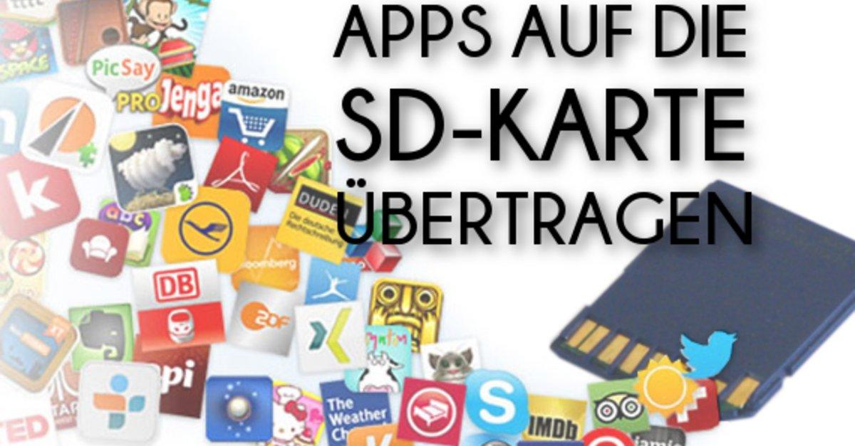 Sd Karte Als Standardspeicher.Apps Auf Sd Karte Verschieben Und Sd Karte Zum Internen Speicher Machen