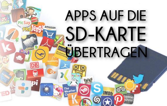 wie verschiebe ich apps auf die sd karte Apps auf SD Karte verschieben und SD Karte zum internen Speicher