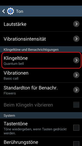 klingeltöne download samsung