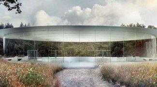 """Apple Campus 2: """"Fliegende Untertasse"""" als Eingang für unterirdisches Auditorium"""
