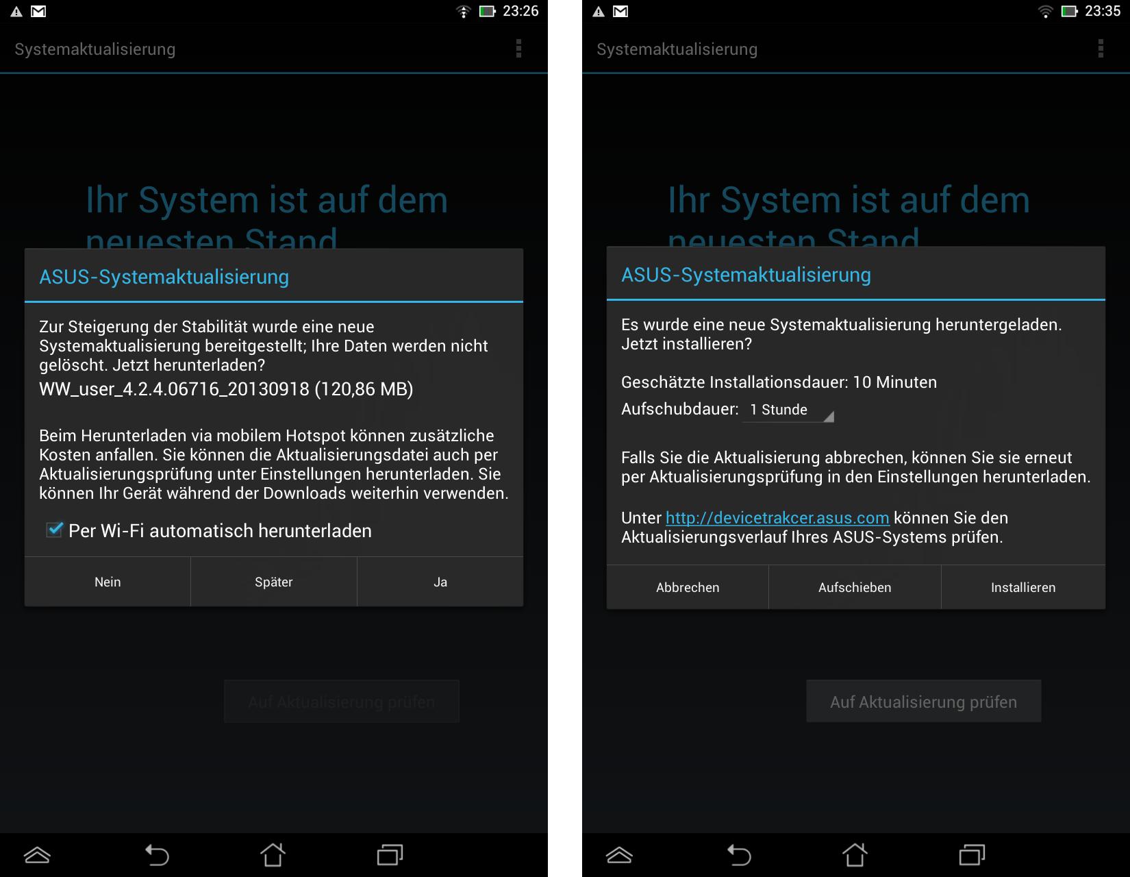 ASUS MeMO Pad HD 7: Android 4 2 2 und diverse Neuerungen per