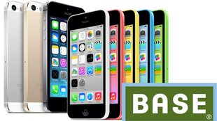 iPhone 5s und iPhone 5c bei Base (E-Plus) bald im Programm