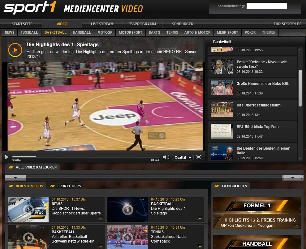 bayern basketball live