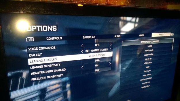 Battlefield 4: Liste der Kinect-Sprachbefehle aufgetaucht