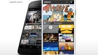 Kostenlose TV App dailyme TV mit neuem Design und Programm