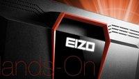 """Gaming-Monitor Eizo FG2421: """"Turbo-Schirm"""" mit weniger als 1ms Reaktionszeit (Hands-On)"""