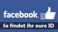 Facebook ID herausfinden