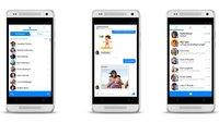 Facebook Messenger: Großes Update bringt neues Design für alle [APK-Download]