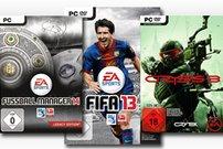 Fifa 13 gratis: Fussball Manager 14 Bundle und Crysis 3 im Angebot bei Gamesload