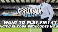 Football Manager 2014: Beta gestartet