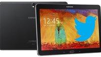 Twitter für Android: Tablet-Version vorgestellt —exklusiv für das Galaxy Note 10.1 2014 Edition