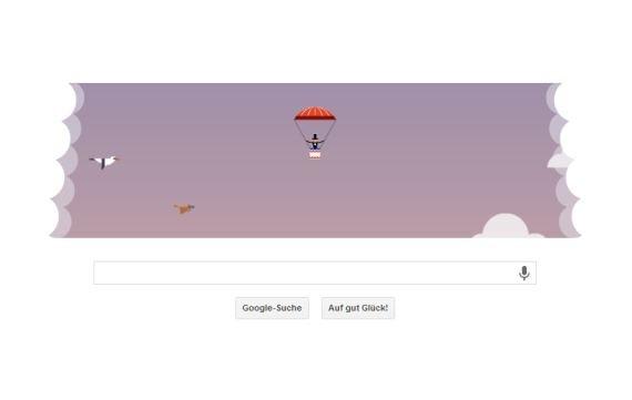 Google ehrt André-Jacques Garnerin - und so wird das Doodle gespielt