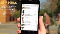Google Hangouts: Kommendes Update bringt SMS, Teilen von Orten, animierte GIFs & mehr