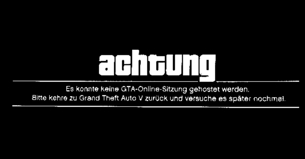gta 5 online startet nicht was ihr tun k nnt giga. Black Bedroom Furniture Sets. Home Design Ideas