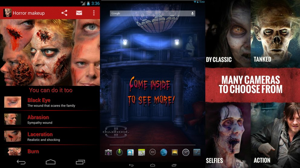 Halloween-Apps: Top 5 Live Wallpaper und Android-Apps mit Gruselfaktor