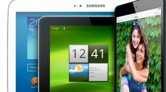 iPad-Alternativen: Gegen diese Android-Modelle treten iPad Air und iPad mini 2 an