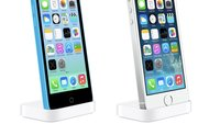 iPhone 5s und 5c: Passgenaue Dockingstationen von Apple