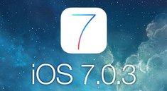 iOS 7.0.3: Update soll am Freitag kommen