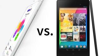 iPad mini 2 Retina vs. Nexus 7: Kleine Tablets, große Konkurrenz