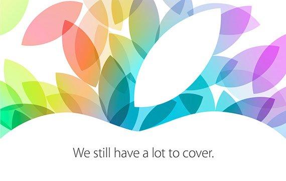 Heute Apple-Keynote zu iPad 5 und iPad mini 2: Live-Ticker hier, Livestream angekündigt