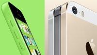 iPhone 5s und 5c: Die beliebtesten Farben