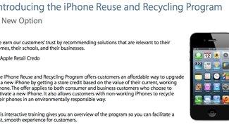 iPhone-Trade-in-Programm: Kunden können Altgerät bald auch in Europa in Zahlung geben