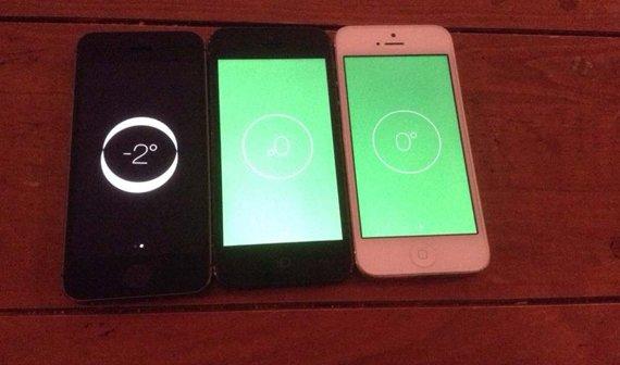 iPhone 5s: Nutzer berichten von Problemen mit Kompass und Wasserwaage