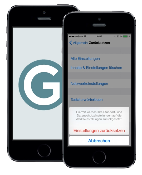 iphone 6s Plus nach reset orten
