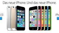 iPhone 5s und 5c auf Platz eins und drei der US-Verkaufscharts