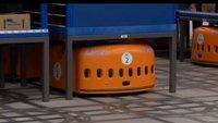 Amazon: Mitarbeiter gehen, Roboter kommen