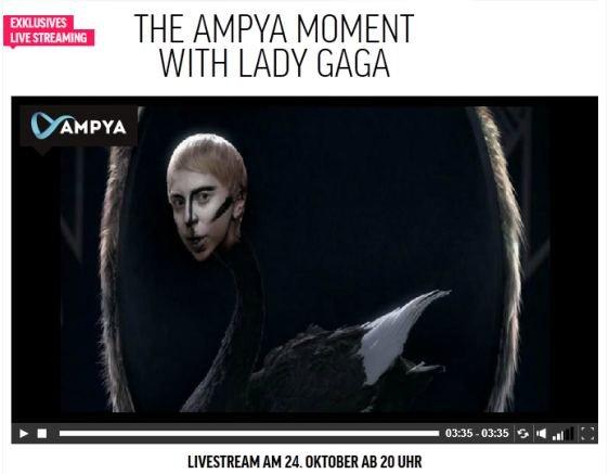 Lady Gaga live: Kostenloser Video-Stream zum neuen Album Artpop