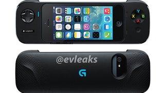 Logitech: iPhone-Gamepad für iOS 7 zeigt sich auf ersten Produktfotos