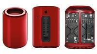 Mac Pro 2013: Rotes Einzelstück wird für guten Zweck versteigert