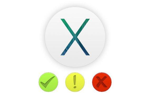 OS X Mavericks: Interaktive Liste kompatibler Applikationen