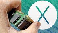 OS X 10.9 Mavericks: Arbeitsspeicher für iMac, MacBook und Mac mini aufrüsten