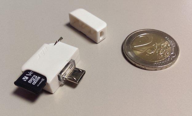 Meenova: Externer micro SD-Kartenleser für Android-Geräte im Test