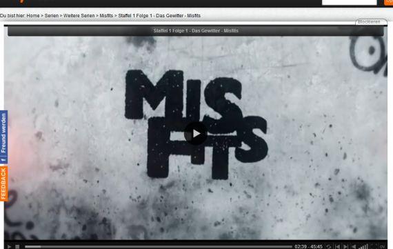 Misfits Online Schauen