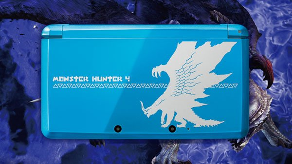 Nintendo: Erneutes 3DS-Bundle im Monster Hunter-Design vorgestellt