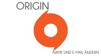 Origin-E-Mail und -Namen ändern (Kurztipp)